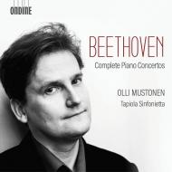 ピアノ協奏曲全集、ヴァイオリン協奏曲(ピアノ版) オッリ・ムストネン、タピオラ・シンフォニエッタ(3CD)