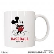広島東洋カープ  マグカップ / ミッキーマウス<BASEBALL>