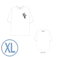 ビッグシルエットTシャツ WHITE(XL)/ SEVENTEEN 2020 JAPAN DOME TOUR <SVT>
