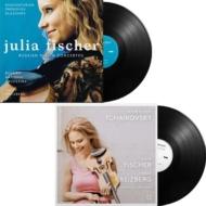 ヴァイオリン協奏曲集:ハチャトゥリアン、プロコフィエフ、グラズノフ、チャイコフスキー ユリアフィッシャー、ヤコフ・クライツベルク (4枚組180グラム重量盤レコード)