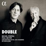 DOUBLE〜2つのクラリネットのための協奏曲集 ポール・メイエ、ミシェル・ポルタル、ワロニー室内管弦楽団(日本語解説付)