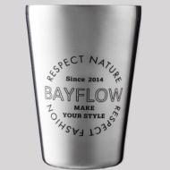 BAYFLOW LOGO TUMBLER BOOK SILVER【HMV&BOOKS online限定】