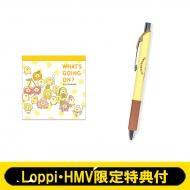 スクエアメモ フルーツ & エナージェルシャープ【Loppi・HMV限定特典付】