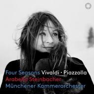 Vivaldi Four Seasons, Piazzolla Four Seasons : Arabella Miho Steinbacher(Vn)Munich Chamber Orchestra