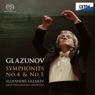 交響曲第4番、第5番 アレクサンドル・ラザレフ&日本フィル