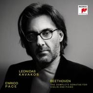 ヴァイオリン・ソナタ全集 レオニダス・カヴァコス、エンリコ・パーチェ(3CD)