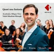Quasi Una Fantasia-ehrenfellner, T.schulze, Einem, Mozart: Khadem-missagh / Academia Allegro Vivo