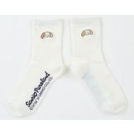 シナモロールお洗濯シリーズ 靴下 シフォン