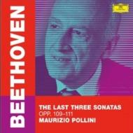 ピアノ・ソナタ第30番、第31番、第32番 マウリツィオ・ポリーニ(2019)(2枚組アナログレコード)