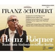 交響曲第9番『グレート』、第8番『未完成』、第6番、第2番、ドイツ舞曲、他 ハインツ・レーグナー&ベルリン放送交響楽団(1973〜1991)(3CD)