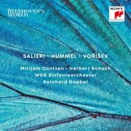 ヴォジーシェク:交響曲、フンメル:二重協奏曲、サリエリ:変奏曲 ラインハルト・ゲーベル&ケルンWDR交響楽団、ミリヤム・コンツェン、ヘルベルト・シュフ