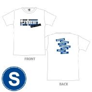 三代目 J SOUL BROTHERS PERFECT LIVE ロゴTシャツ(WHITE/S)