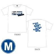 三代目 J SOUL BROTHERS PERFECT LIVE ロゴTシャツ(WHITE/M)