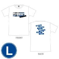 三代目 J SOUL BROTHERS PERFECT LIVE ロゴTシャツ(WHITE/L)