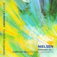 交響曲第1番、第2番『4つの気質』 トーマス・ダウスゴー&シアトル交響楽団