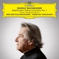 ピアノ協奏曲第1番、6つの変奏曲 ルドルフ・ブッフビンダー、クリスティアーン・ティーレマン&ベルリン・フィル(MQA/UHQCD)