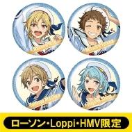 ホログラム缶バッジ4個セット(Ra*bits)【ローソン・Loppi・HMV限定】