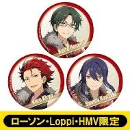 ホログラム缶バッジ3個セット(紅月)【ローソン・Loppi・HMV限定】
