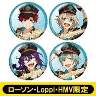 ホログラム缶バッジ4個セット(ALKALOID)【ローソン・Loppi・HMV限定】