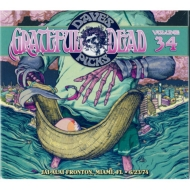 Dave's Picks Volume 34: Jai Alai Fronton, Miami, Fl 6 / 23 / 74 (3CD)