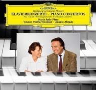 ピアノ協奏曲第14番、第26番 マリア・ジョアン・ピリス(P)、アバド&ウィーン・フィル (180グラム重量盤レコード/Deutsche Grammophon)