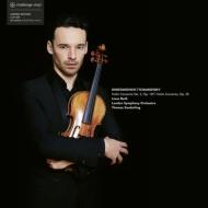 チャイコフスキー:ヴァイオリン協奏曲(原典版)、ショスタコーヴィチ:ヴァイオリン協奏曲第2番 リナス・ロス、トマス・ザンデルリング (2枚組/180グラム重量盤レコード)