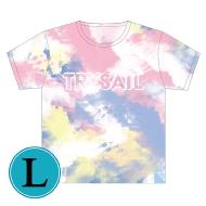 タイダイTシャツ(L)/ Go for a Sail