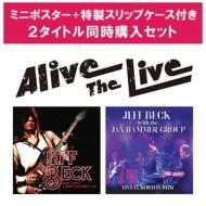 ジェフ・ベック 7/3発売Alive The Live シリーズ 【ミニポスター+特製スリップケース特典付き2タイトル同時購入セット】(5CD)