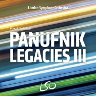 『パヌフニクの遺産3〜12人の新進作曲家によるオーケストラ新作集』 フランソワ=グザヴィエ・ロト&ロンドン交響楽団
