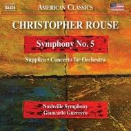 交響曲第5番、サプリカ、管弦楽のための協奏曲 ジャンカルロ・ゲレーロ&ナッシュヴィル交響楽団
