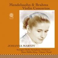 ブラームス:ヴァイオリン協奏曲、メンデルスゾーン:ヴァイオリン協奏曲 ヨハンナ・マルツィ、ヴァント、ミュラー=クライ、シュトゥットガルト放送響(平林直哉復刻)