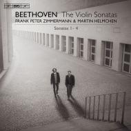ヴァイオリン・ソナタ第1番、第2番、第3番、第4番 フランク・ペーター・ツィンマーマン、マルティン・ヘルムヒェン(平行弦ピアノ)
