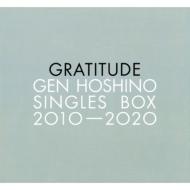 "Gen Hoshino Singles Box ""GRATITUDE"" 【11CD(12)+10DVD+特典CD+特典BD】"