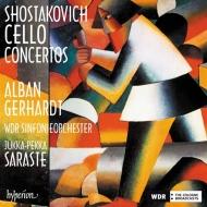 チェロ協奏曲第1番、第2番 アルバン・ゲルハルト、ユッカ=ペッカ・サラステ&ケルンWDR交響楽団(日本語解説付)