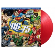 Music Of Dc Comics: 75th Anniversary Collection オリジナルサウンドトラック (レッド・ヴァイナル仕様/180グラム重量盤レコード/Music On Vinyl)