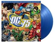 Music Of Dc Comics: 75th Anniversary Collection オリジナルサウンドトラック (ブルー・ヴァイナル仕様/180グラム重量盤レコード/Music On Vinyl)