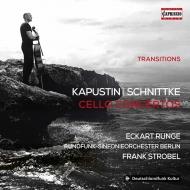 カプースチン:チェロ協奏曲第1番、シュニトケ:チェロ協奏曲第1番 エッカルト・ルンゲ、フランク・シュトローベル&ベルリン放送交響楽団
