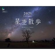 武井伸吾/星空散歩 カレンダー 壁掛け 2021 B4ワイド