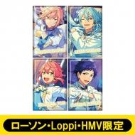 スクエアバッジ4個セット(fine)【ローソン・Loppi・HMV限定】