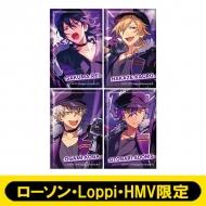 スクエアバッジ4個セット(UNDEAD)【ローソン・Loppi・HMV限定】
