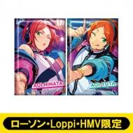 スクエアバッジ2個セット(2wink)【ローソン・Loppi・HMV限定】