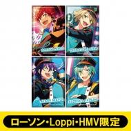 スクエアバッジ4個セット(ALKALOID)【ローソン・Loppi・HMV限定】