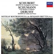 Arpeggione Sonata: Rostropovich(Vc)Britten(P)+schumann, Debussy (Mqa / Uhqcd)