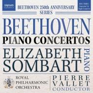 ピアノ協奏曲第5番『皇帝』、三重協奏曲 エリーザベト・ソンバール、ピエール・ヴァレー&ロイヤル・フィル、ダンカン・リデル、リチャード・ハーウッド