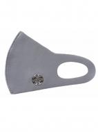 聖飢魔II35th冷感素材マスク(クリアケース付き) 紋章・散蝙蝠(グレー)