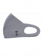 聖飢魔II35th冷感素材マスク(クリアケース付き) 紋章・集蝙蝠(グレー)