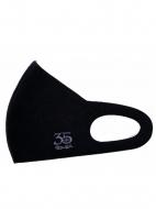 聖飢魔II35th冷感素材マスク(クリアケース付き) 35th・ロゴ(ブラック)