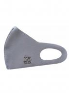 聖飢魔II35th冷感素材マスク(クリアケース付き) 35th・ロゴ(グレー)