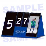 スコアボード風 リバーシブル万年カレンダー / FAKE MOTION -卓球の王将-