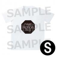 ロゴ Tシャツ 白(サイズS) / FAKE MOTION -卓球の王将-